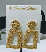 Load image into Gallery viewer, French Foil Belle Earrings