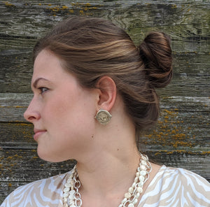 Buffalo Nickel Earrings