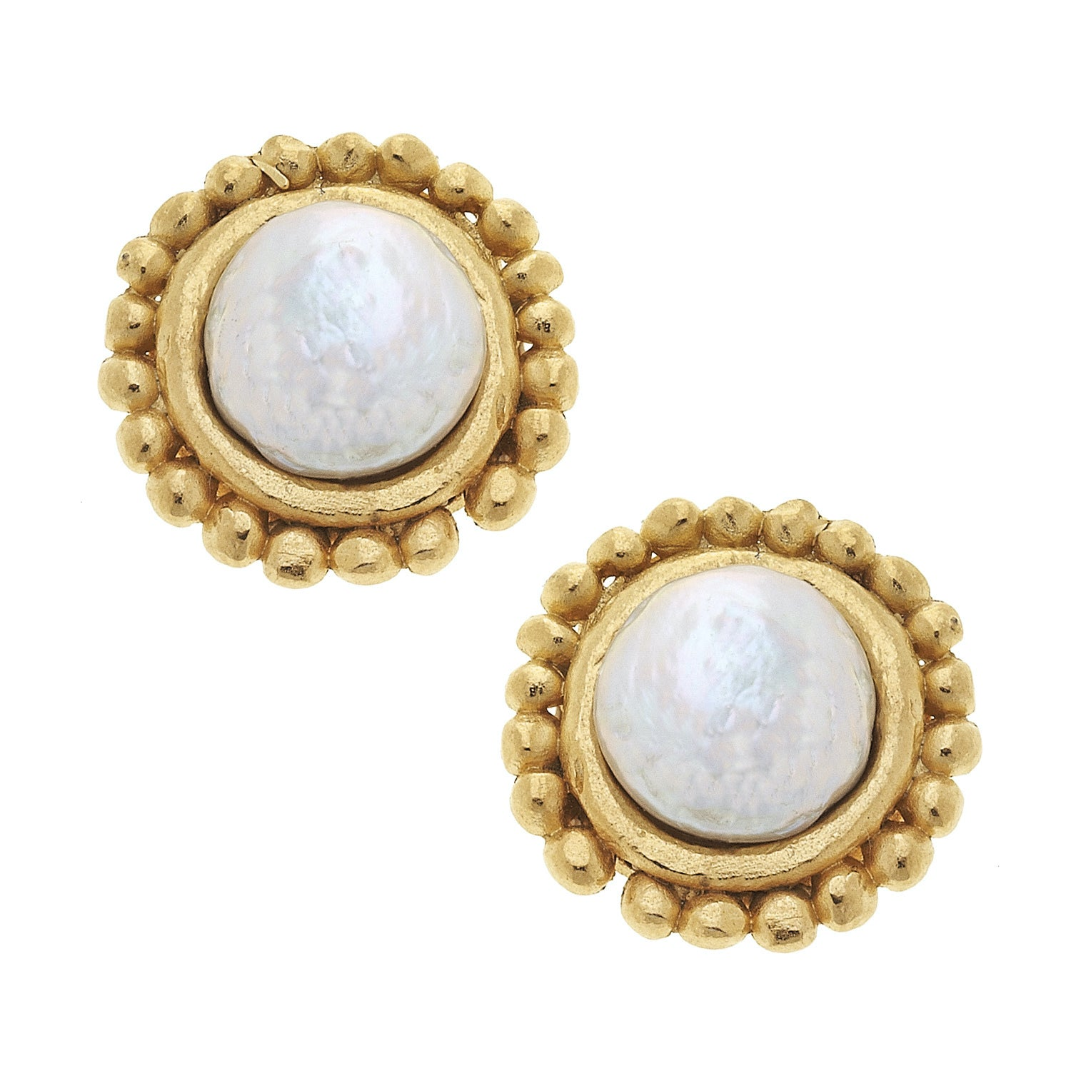 Dotted Coin Pearl Earrings_EditedNC
