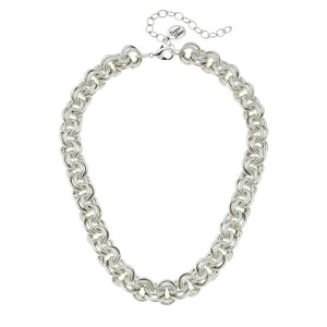 Double Link Chain Necklace