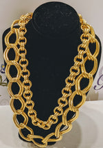 Load image into Gallery viewer, Double Link Chain Necklace