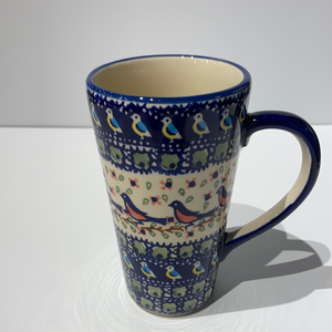 Tall Mug with Handle Robin