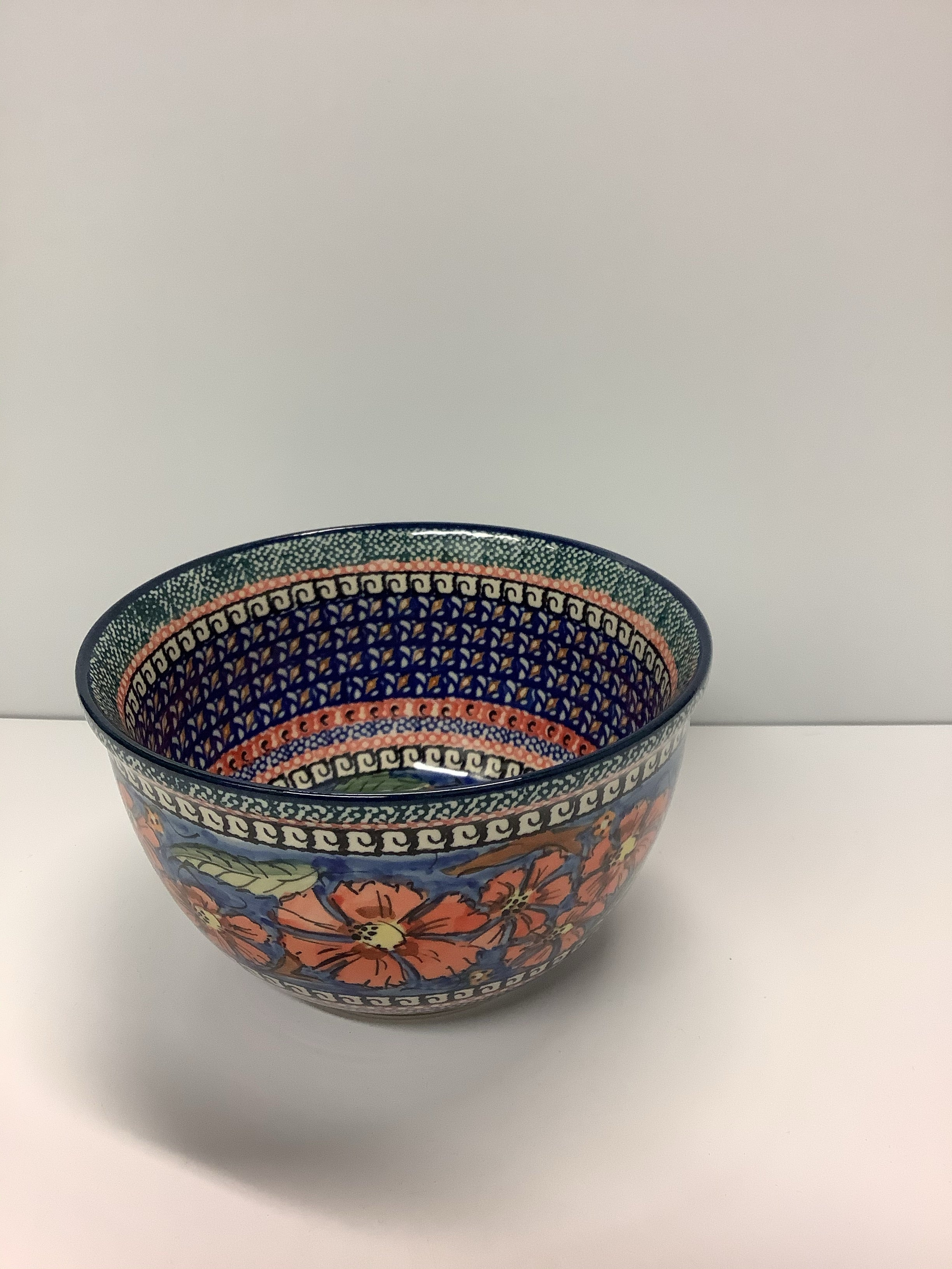 Small Mixing/Serving Bowl Hibiscus