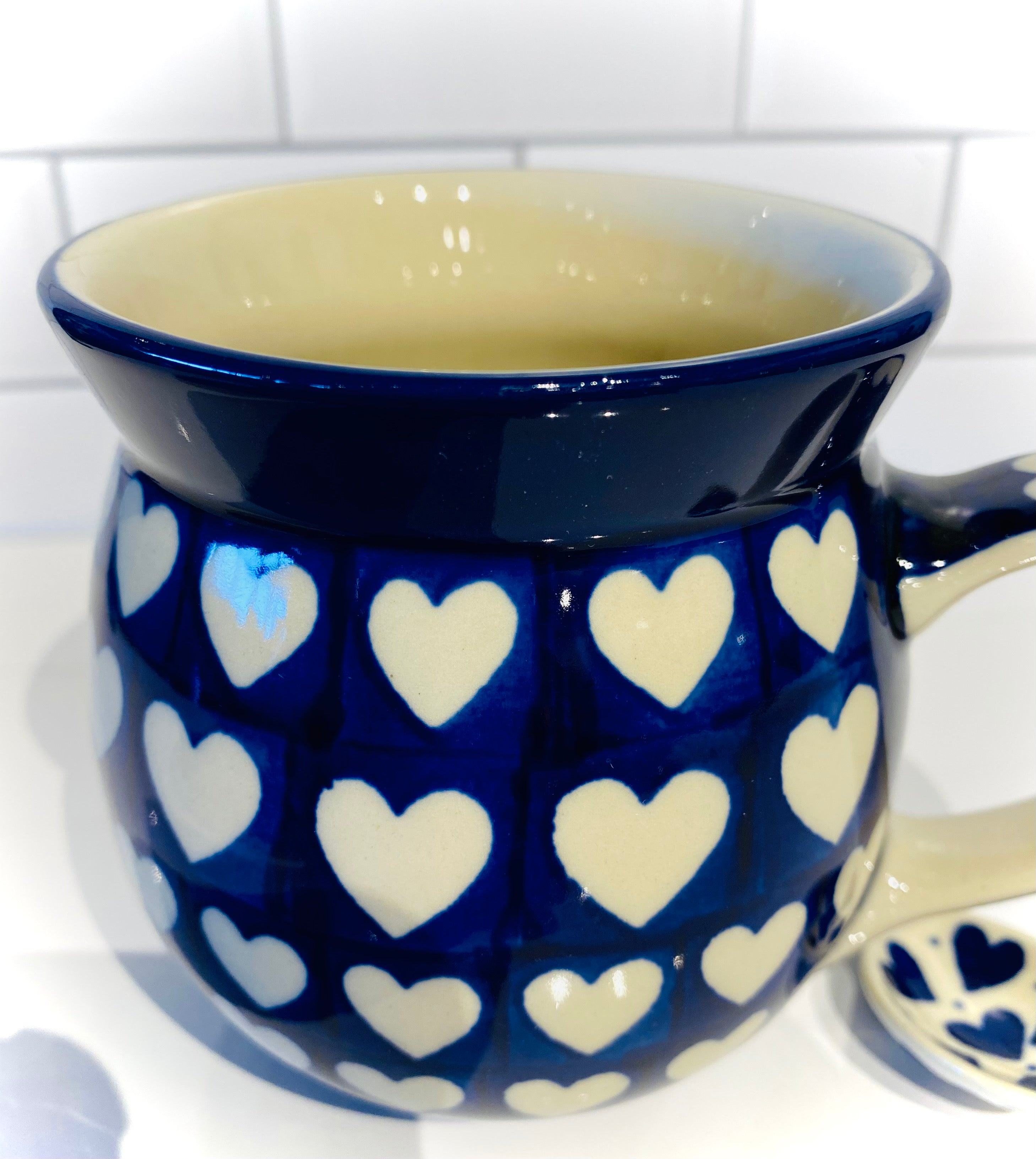 16 Ounce Bubble Mug Big Pure Heart