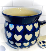 Load image into Gallery viewer, 16 Ounce Bubble Mug Big Pure Heart