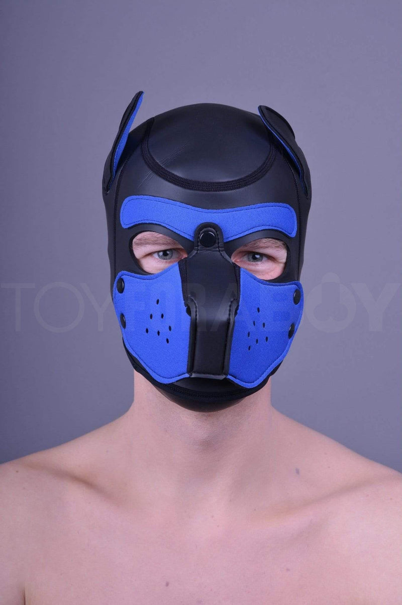 Neoprene Puppy Hood - Royal Blue - TOY FOR A BOY