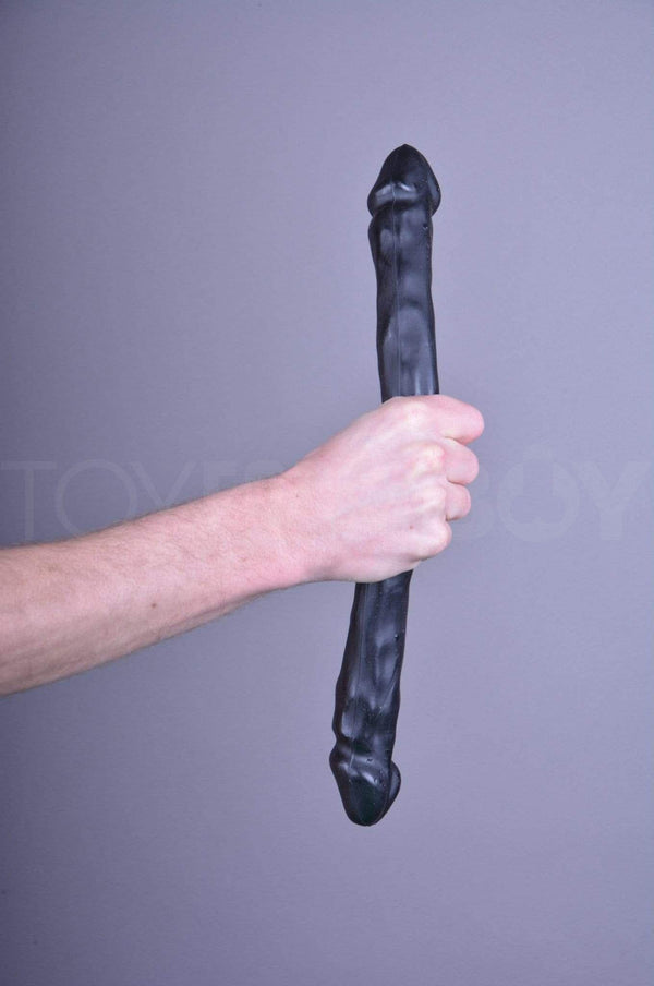 Dildo Double Head - Black - 30.5cm (12 inch) - TOY FOR A BOY