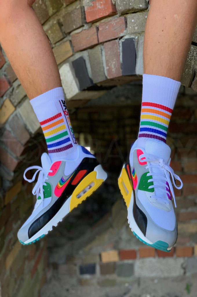 Sk8erboy PRIDE Socks - powered by Toy for a boy