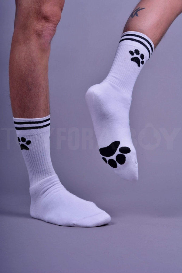 White Sk8erboy PUPPY Socks - TOY FOR A BOY