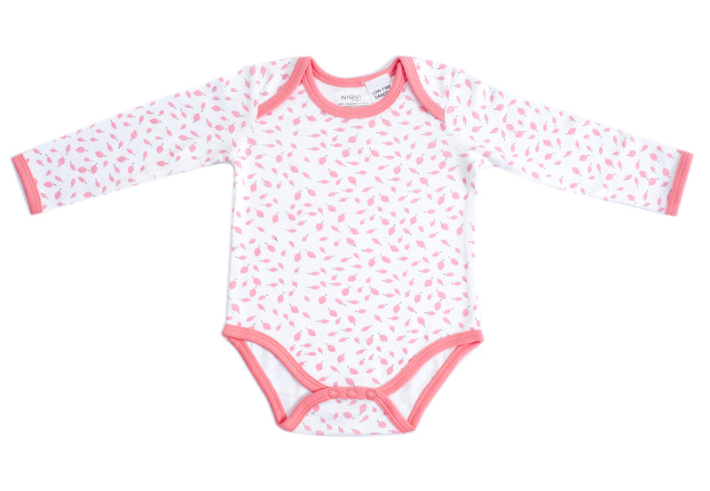 Organic Cotton Baby Leaf Bodysuit