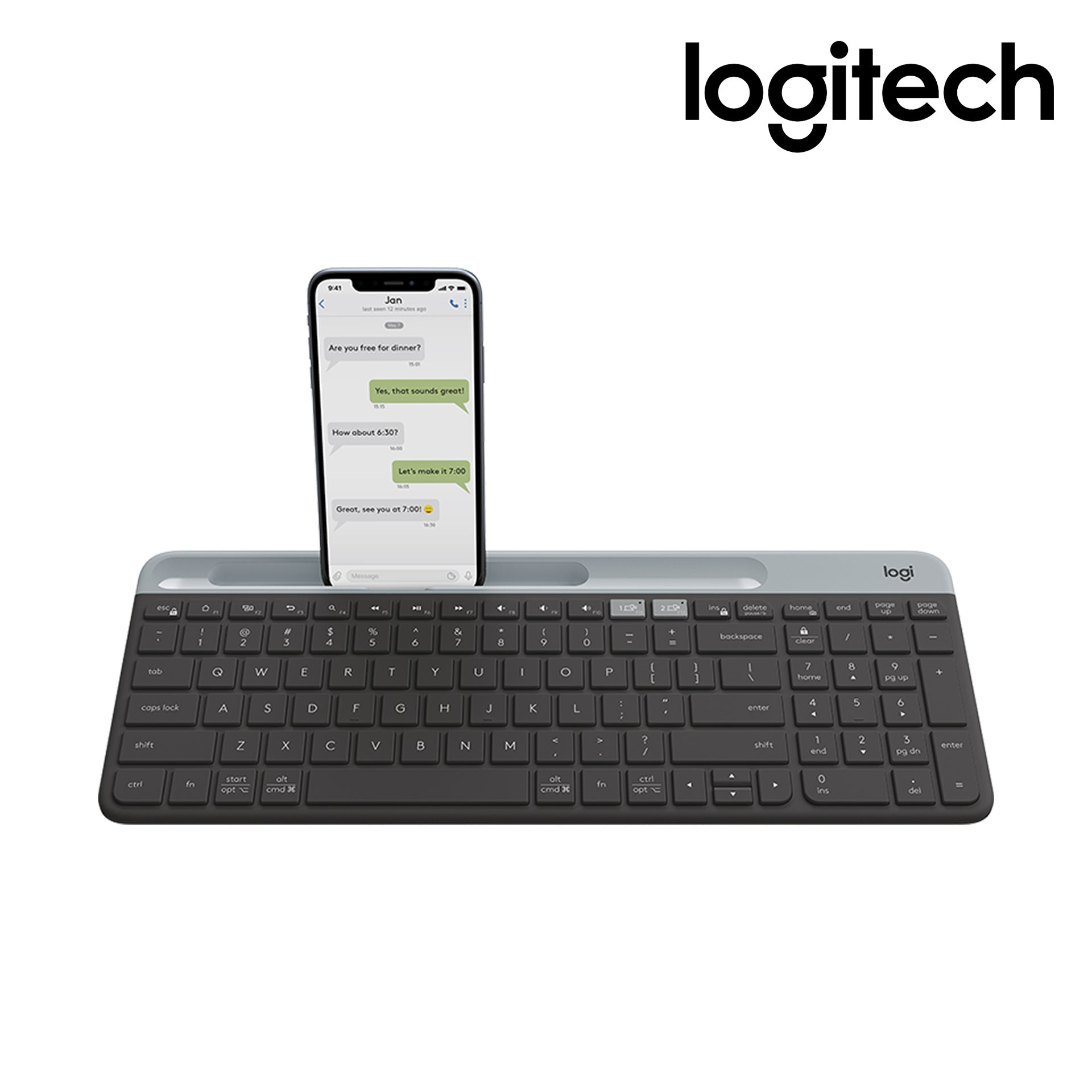 Logitech K580 Wireless Keyboard