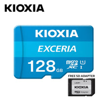 Load image into Gallery viewer, KIOXIA EXCERIA microSD with Adaptor