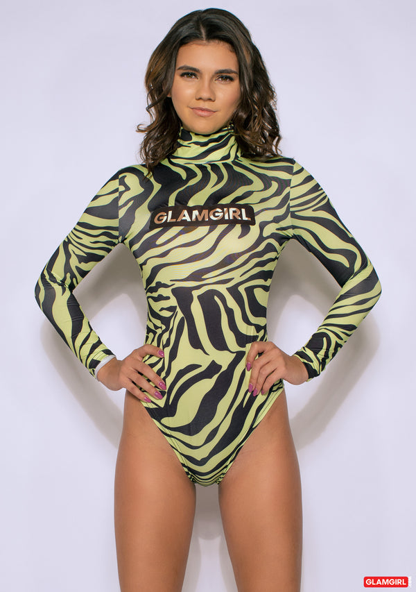 The 'Green-Zebra' Bodysuit
