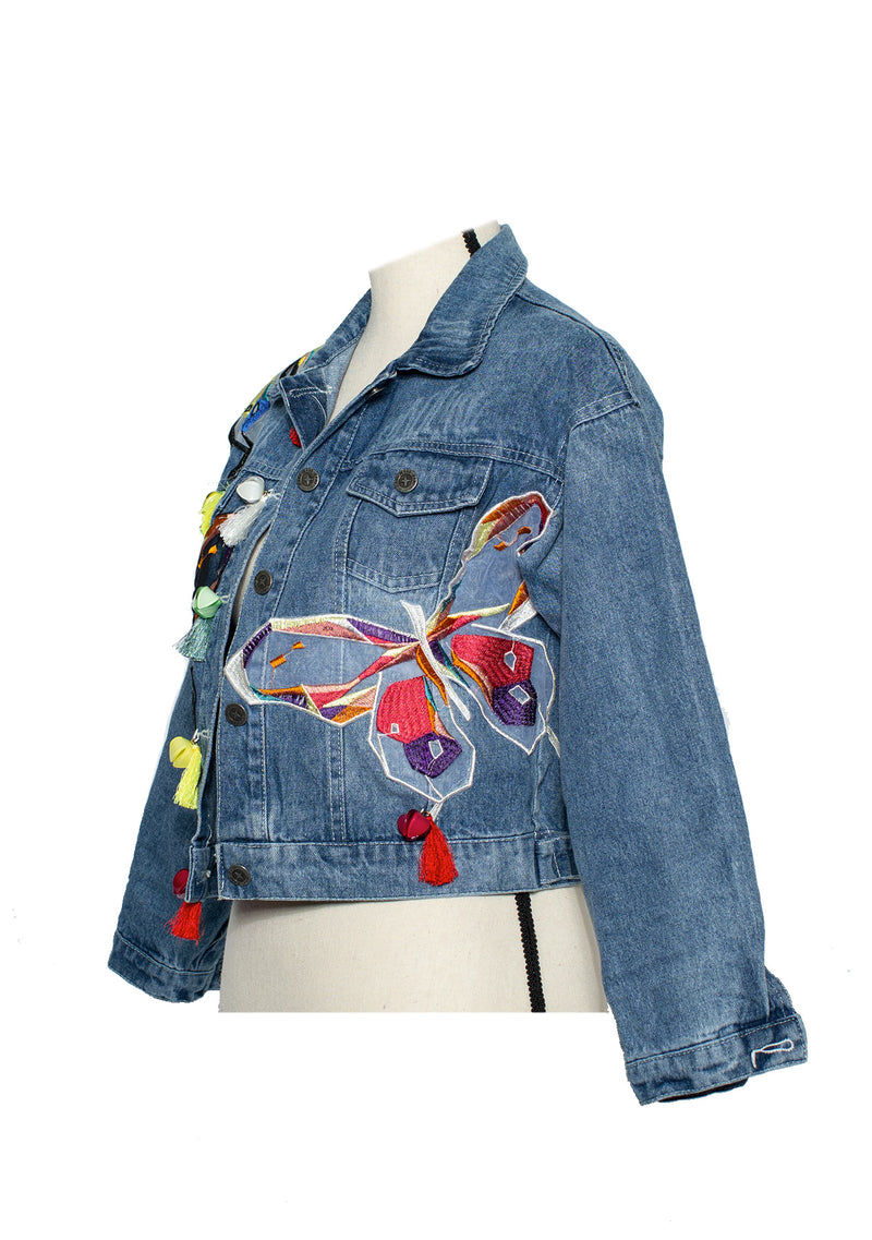 The 'Butterfly' Denim Jacket