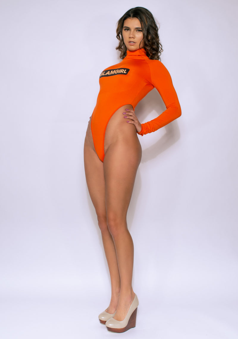 The 'Stunning Orange' Bodysuit