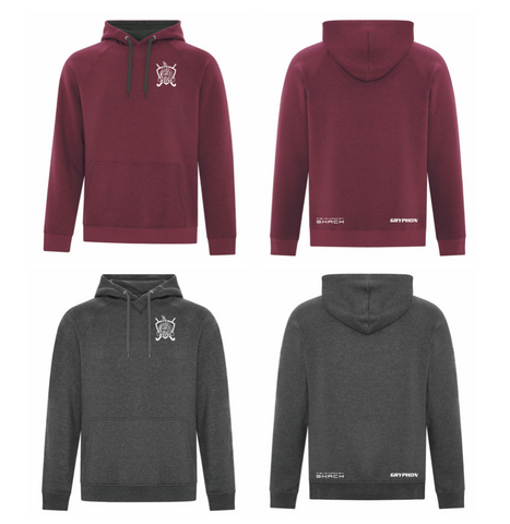 WVFHC - Vintage Hooded MENS'-CUT Sweatshirt