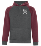 WVFHC - Vintage Two-Tone Hooded Sweatshirt (UNISEX)