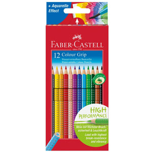 Faber-Castell Farbstift COLOUR GRIP, 12er Kartonetui