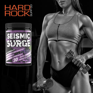 A TRULY Earth Quaking Pre Workout? Seismic Surge by Hard Rock Supplements