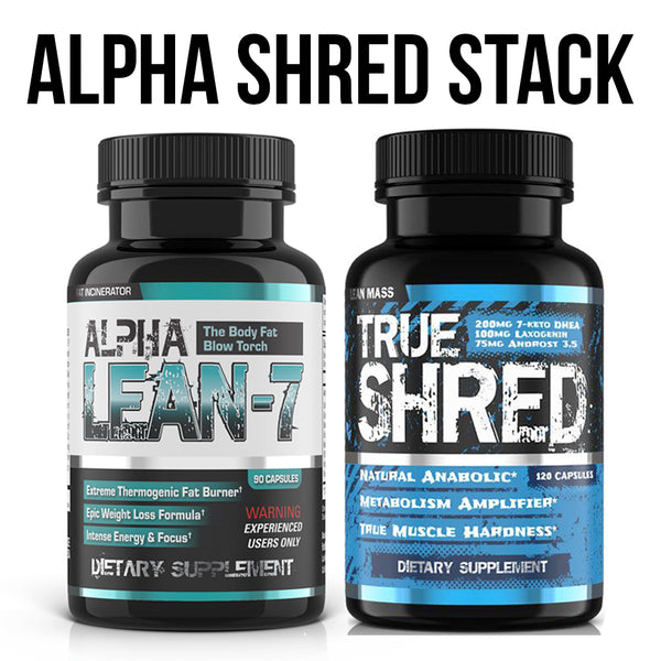 Alpha Shred Stack by Hard Rock Supplements Image