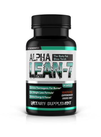 Alpha Lean 7 by Hard Rock Supplements, fat burner, fat cutter, top 10 fat burner, top 10 fat cutter, alpha lean, alpha lean 7, hard rock supplements