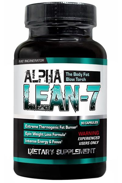 Alpha Lean-7 by Hard Rock Supplements Image