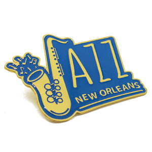 Jazz in New Orleans Pin
