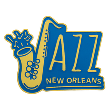 Load image into Gallery viewer, Jazz in New Orleans Pin