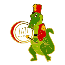 Load image into Gallery viewer, Musician Alligator Pin