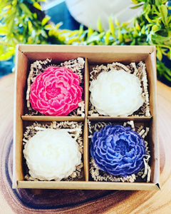 FLOWER BLOSSOM MELTS | PACK OF 4
