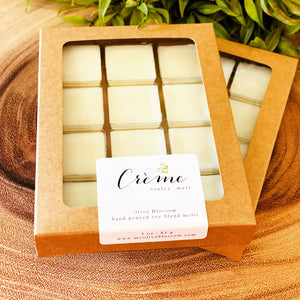 CREME BRULEE | 12 BLOSSOM MELTS IN KRAFT BOX