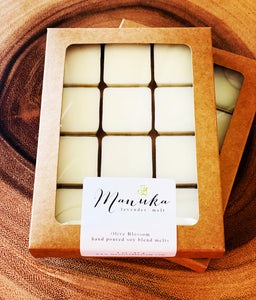 MANUKA LAVENDER | 12 BLOSSOM MELTS IN KRAFT BOX