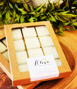 OLIVE BLOSSOM | 12 BLOSSOM MELTS IN KRAFT BOX