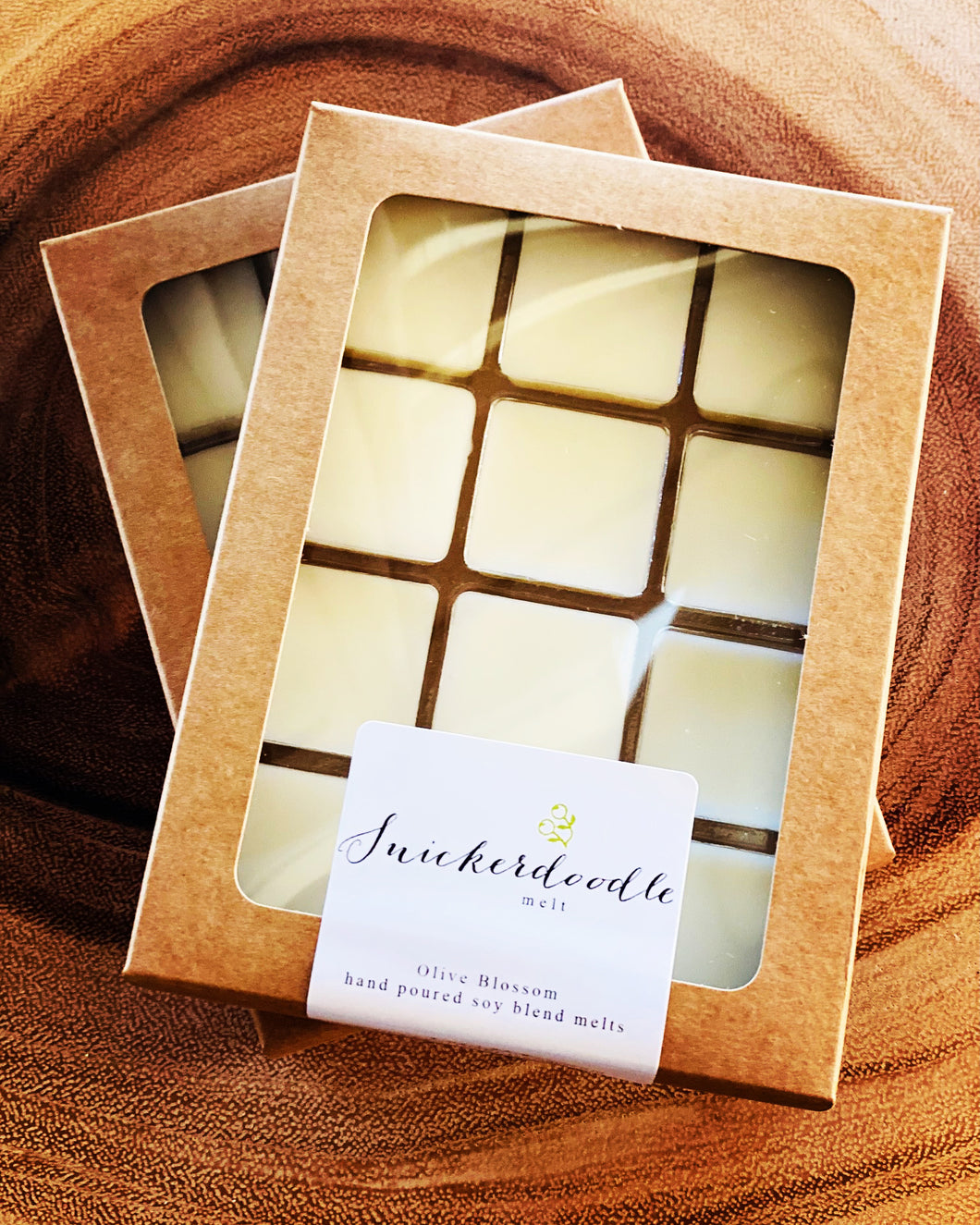 SNICKERDOODLE | 12 BLOSSOM MELTS IN KRAFT BOX