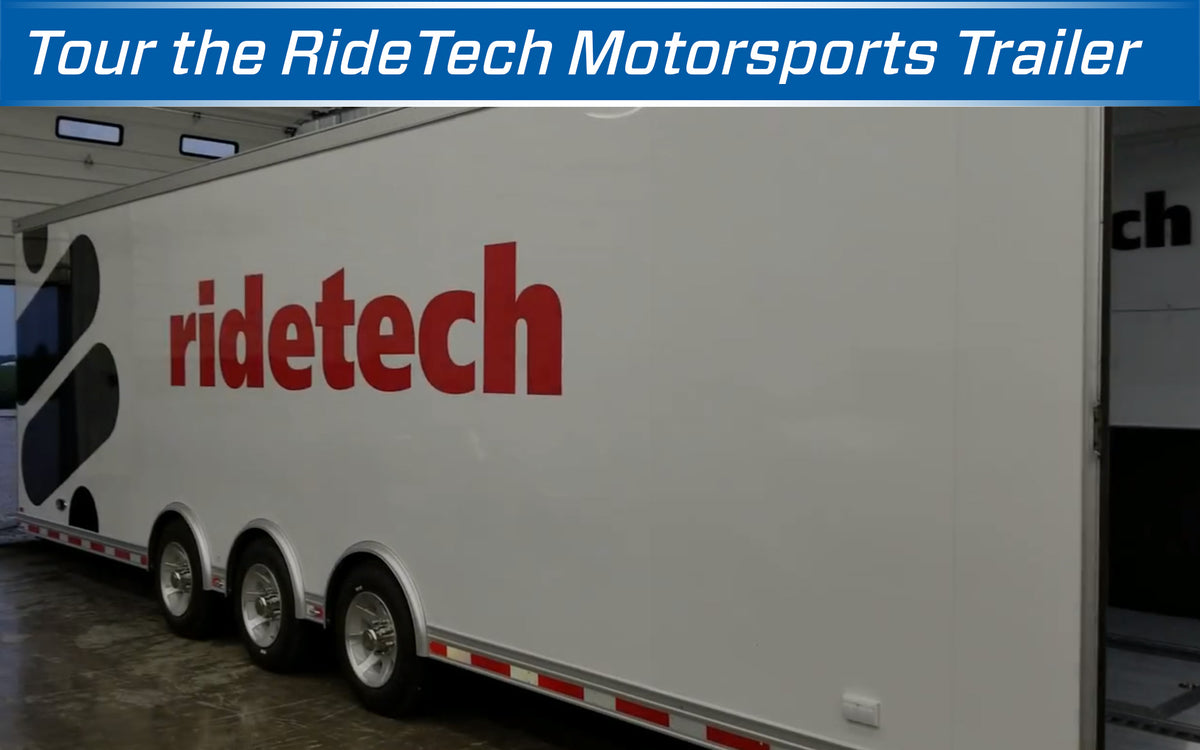 Tour the RideTech Motorsports Trailer