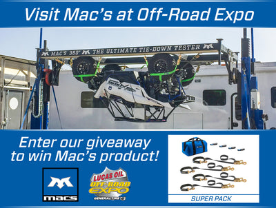 Visit Mac's at Off-Road Expo & Enter to Win!