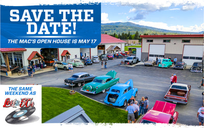 Save the Date for Mac's Open House
