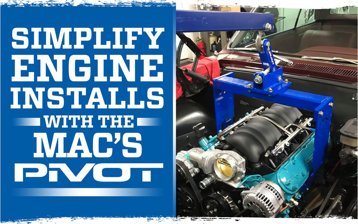 Simplify Engine Installs with the Mac's PiVOT