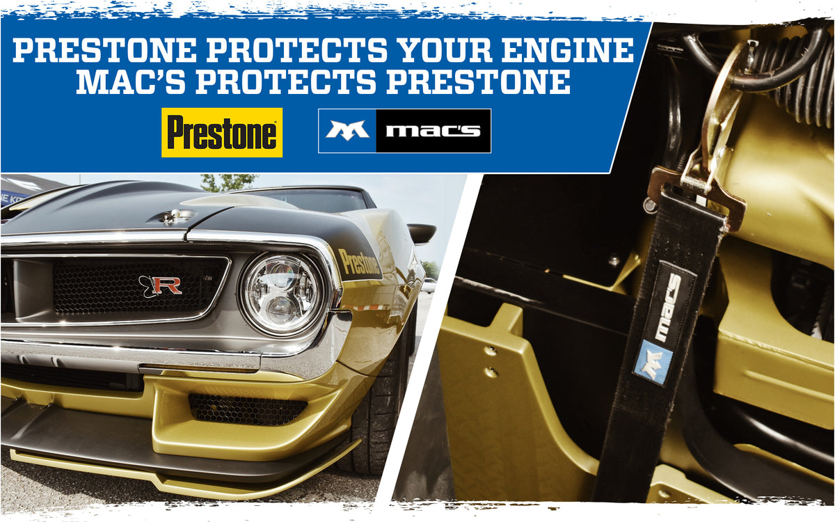 Mac's Partner Feature: Prestone
