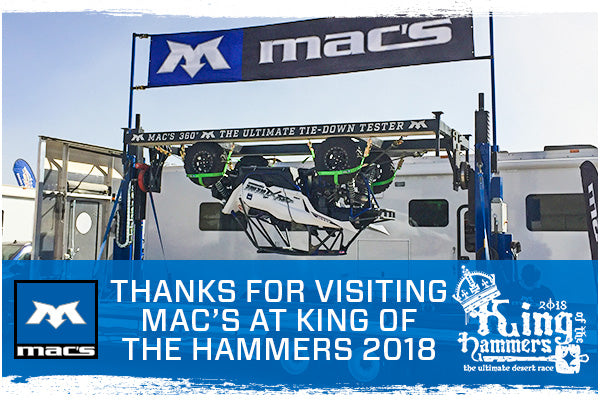Mac's Recap: King of the Hammers 2018