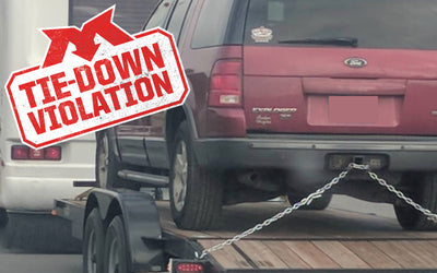 Tie-Down Violation- Ford Explorer
