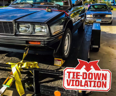 Tie-Down Violation- Inexpensive Violation