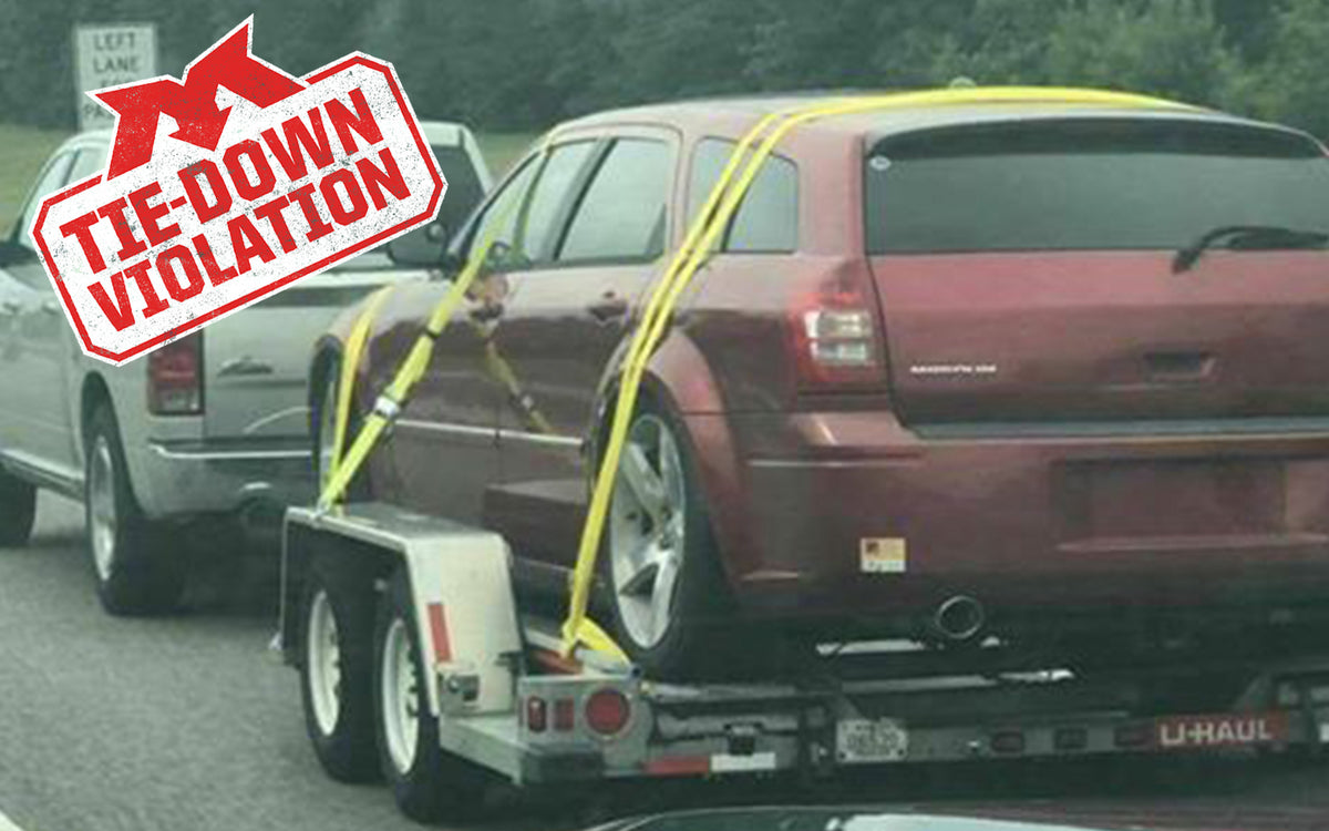 Tie-Down Violation- Unique Tie Down