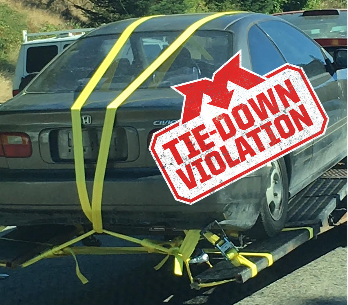 Tie-Down Violation-Civic