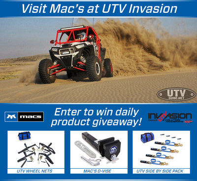 Visit Mac's at UTV Invasion & Enter to Win!