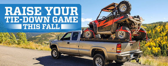 Raise Your Tie-Down Game This Fall
