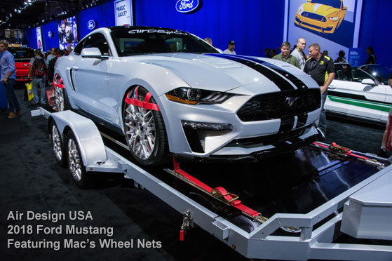 Air Design USA 2018 Ford Mustang Featuring Mac's Wheel Nets