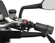 Motorcycle Handlebar Harness with Grip Cups