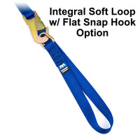 Flat Snap Hook Soft Loop Option