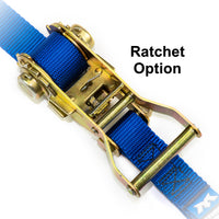 Ratchet Tensioner Tie-Down Strap Option